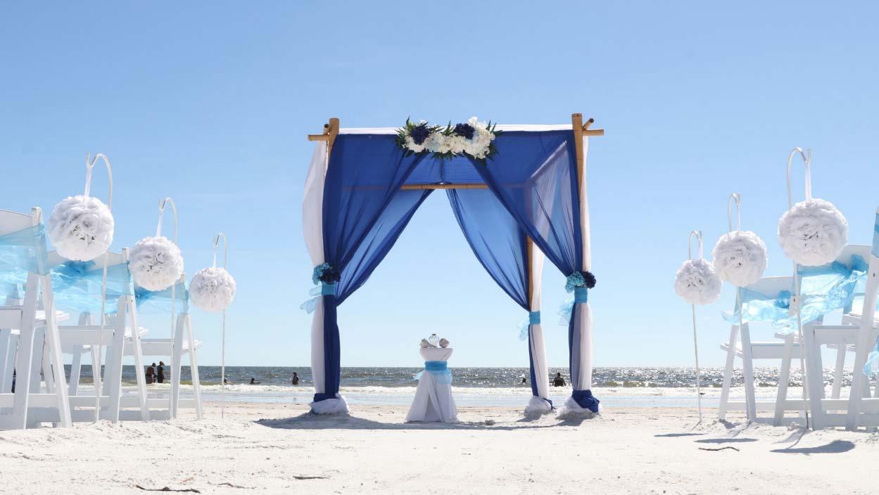 Florida Beach Wedding Arches Suncoast Weddingssuncoast