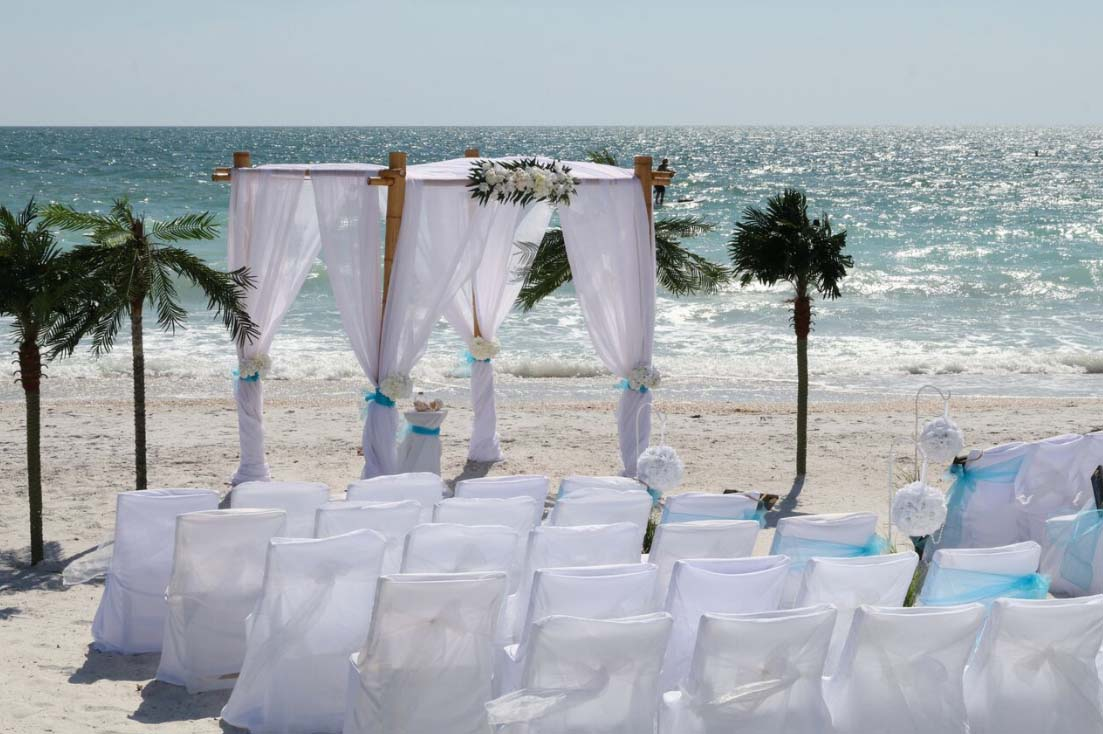 Florida Beach Wedding Chairs Suncoast Weddingssuncoast