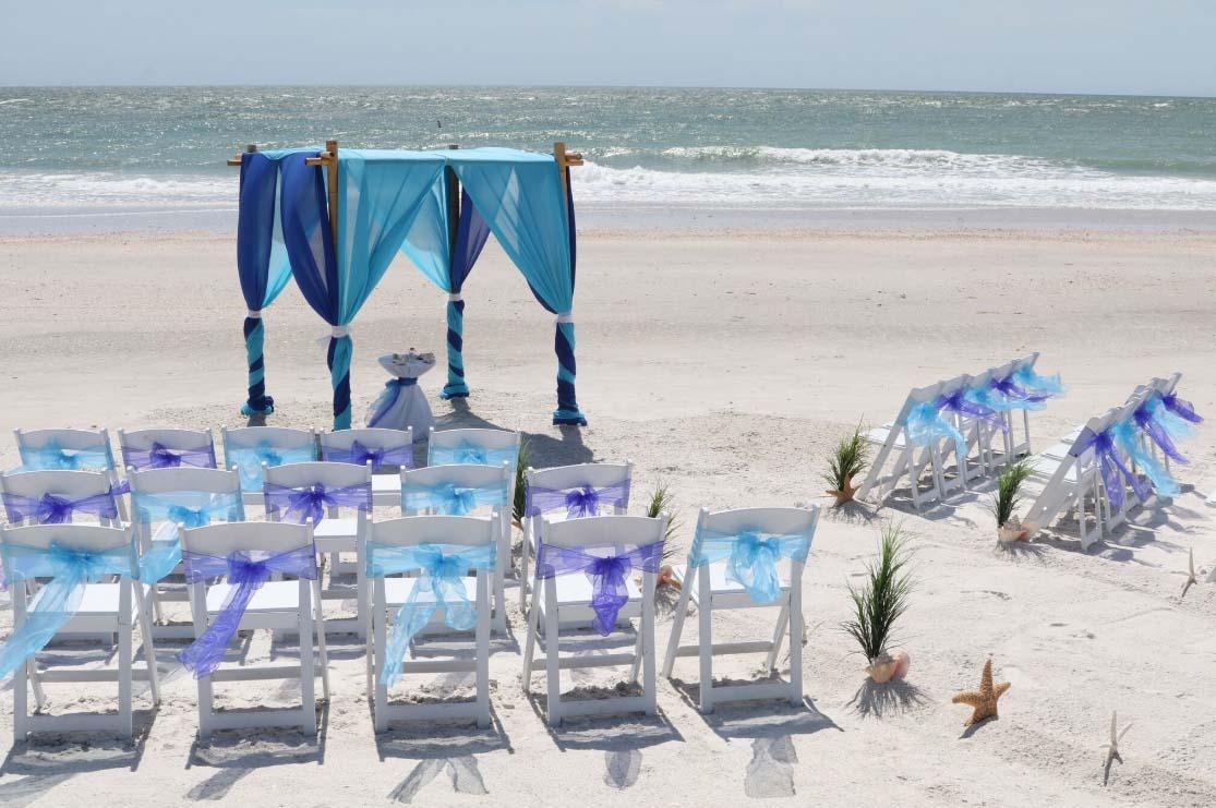 Florida Beach Wedding Chairs Suncoast Weddingssuncoast