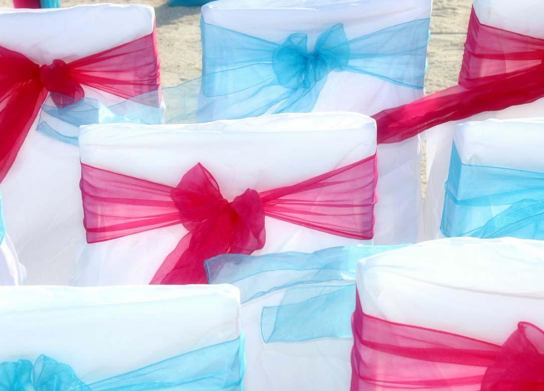 Turquoise Fuchsia Wedding: Florida Beach Weddings In Hot Pink And Cool BlueSuncoast