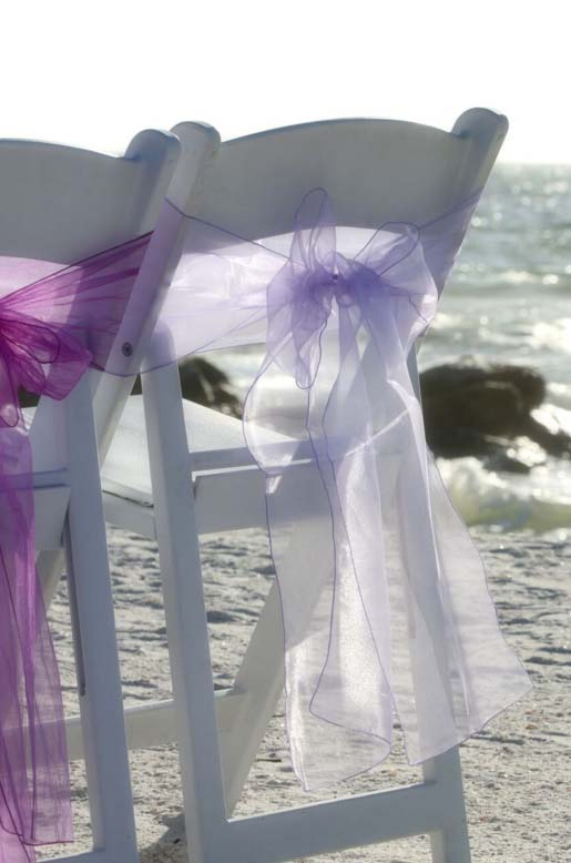 Florida Beach Wedding Themes Purple And Lavendersuncoast
