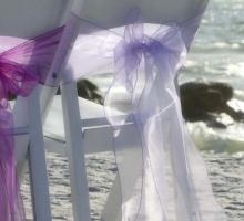 Florida beach wedding themes - Purple and lavender