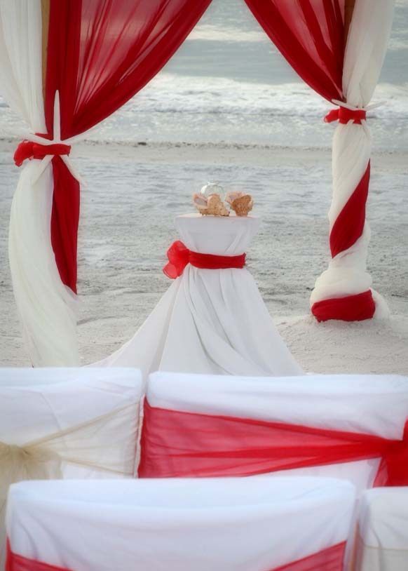 Florida beach wedding ...