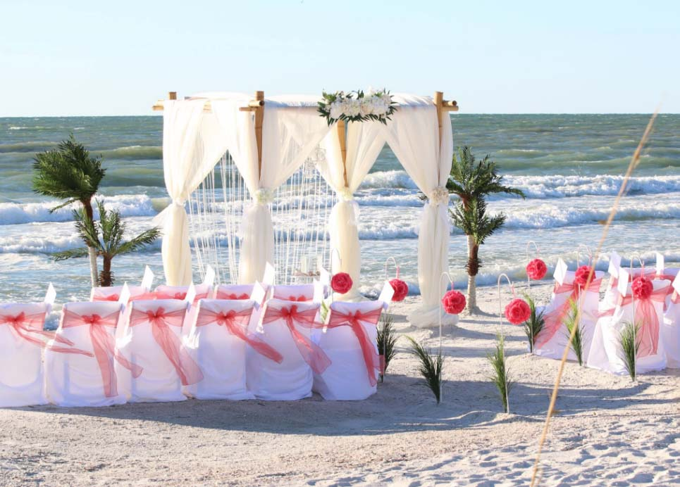 Crystal Florida Beach Wedding