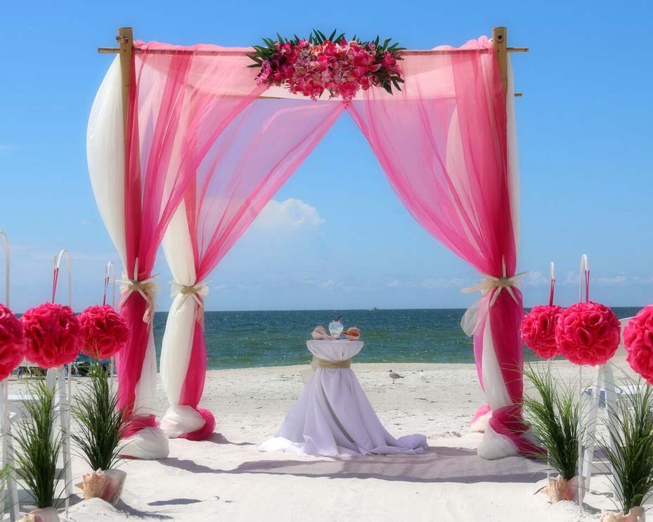 Florida Beach Wedding Arches Suncoast Weddingssuncoast