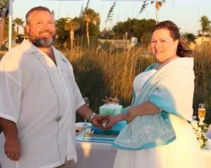 Florida beach weddings in focus