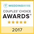 Wedding Wire 2017 award