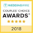 Wedding Wire 2018 award for Suncoast Weddings