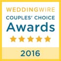 Florida beach weddings Wedding Wire Award 2016