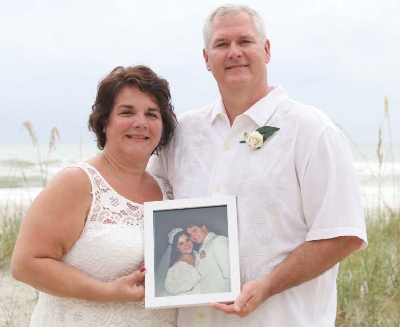 Beach Vow Renewal Ceremony: Florida Beach Vow RenewalsSuncoast Weddings