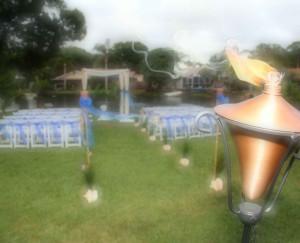 Garden weddings by Suncoast Weddings