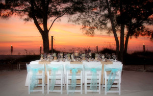 Indian Rocks beach wedding reception