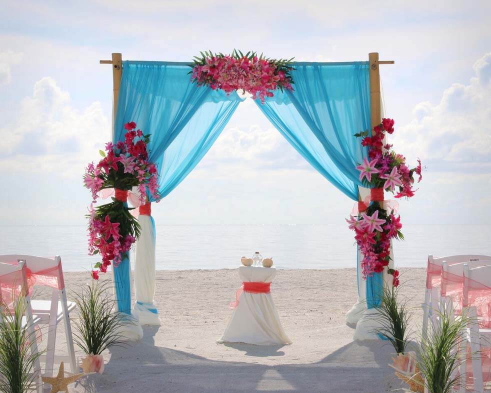 Beach Wedding Arch Ideas: Florida Beach Wedding Arches