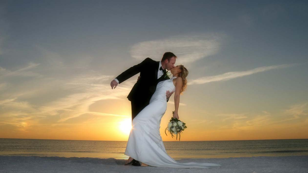 Sunset Beach Weddings And Receptions At The Lions ClubSuncoast Weddings