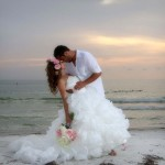 Pass-a-Grille beach wedding and reception