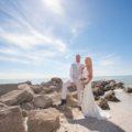 Sunset Beach Wedding Day