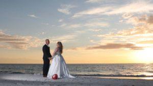 Treasure island wedding day