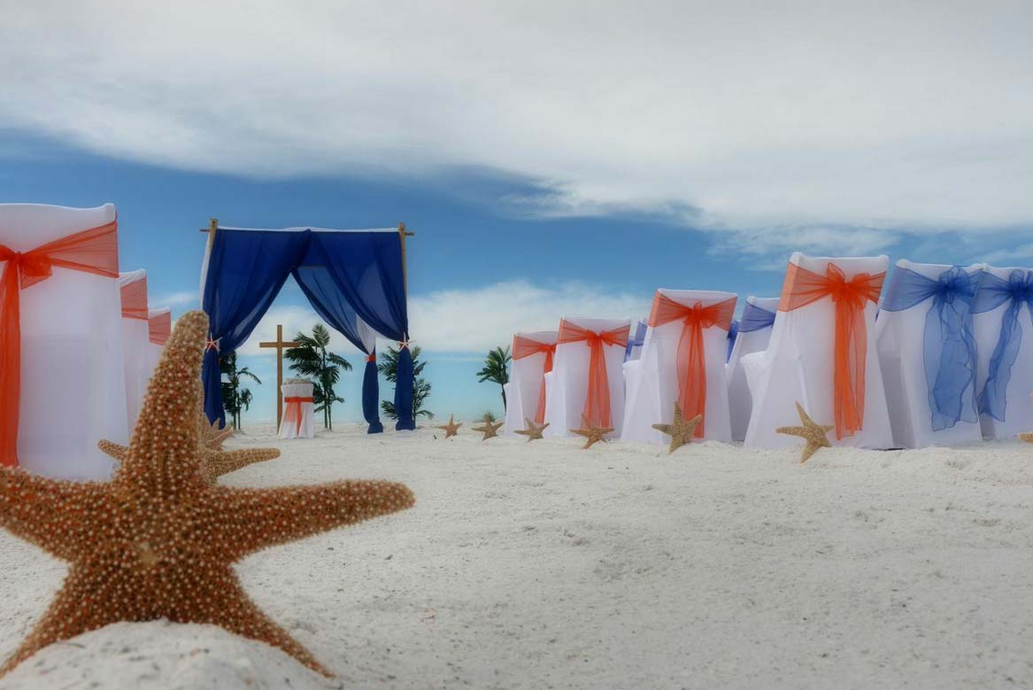 Florida Beach Wedding Aisle Style By Suncoast