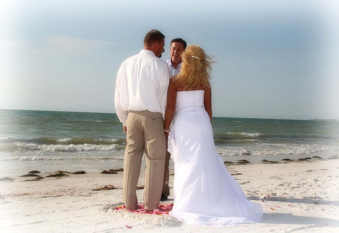 florida beach wedding packages by suncoast wedding the gulf beach package affordable and romantic