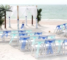 Florida beach wedding themes - an island oasis by Suncoast Weddings