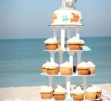 Florida beach wedding receptions on the beach