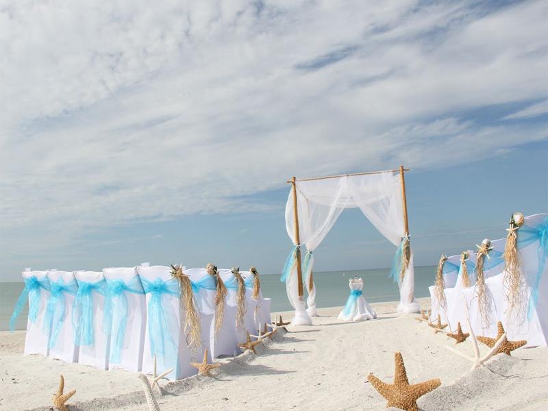 Starfish Themed Beach Weddingsuncoast Weddings