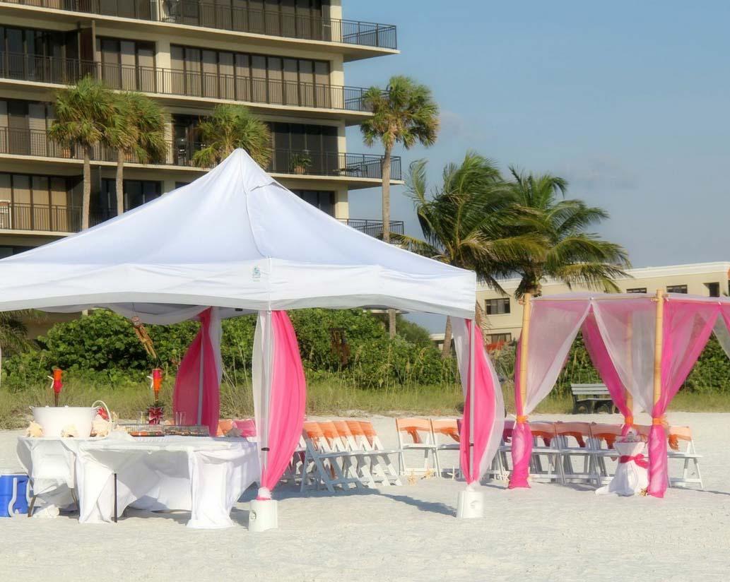 Sun And Sand Reception On Sunset Beach Treasure Island