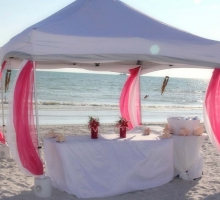 sun and sand reception
