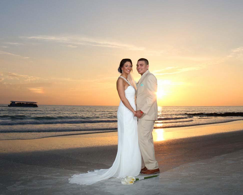 Treasure Island Beach Weddings & Sunset Beach Weddings