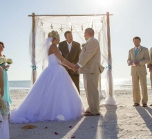 Florida beach weddings