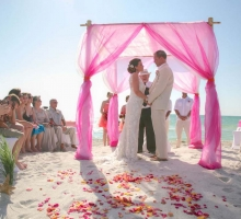 Florida beach wedding ultimate romance by Suncoast Weddings