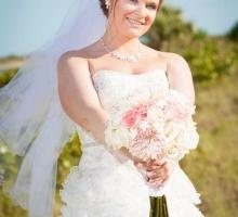 Crystal Blush beach wedding