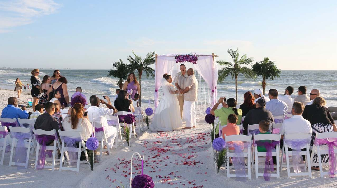 wedding ideas for beach theme florida wedding themes purple and lavendersuncoast 27775