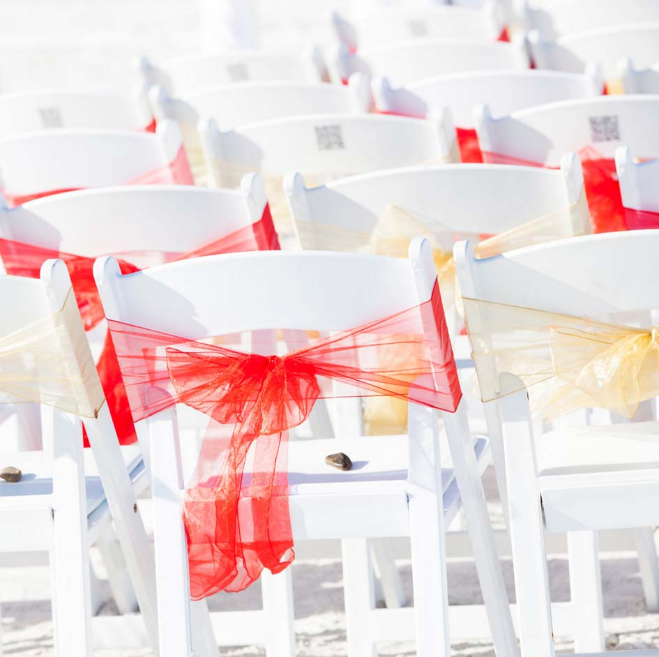Florida beach wedding themes - Romantic Red - Suncoast ...