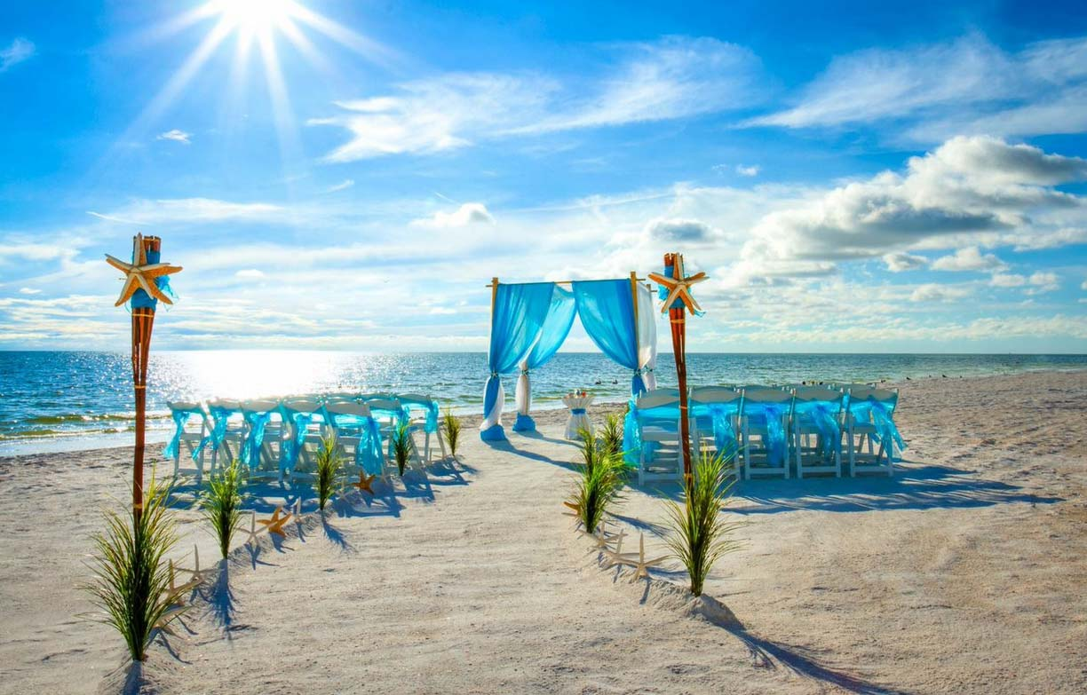 Anna Maria Island Beach House Wedding