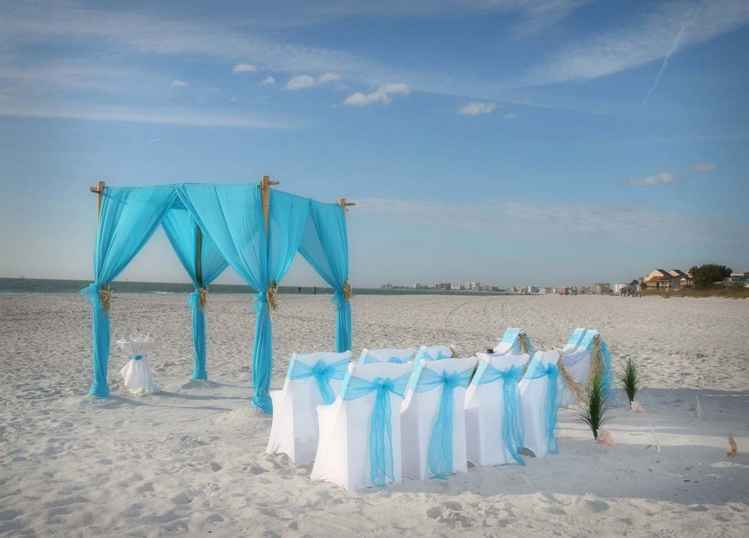 Florida Beach Wedding Themes Tantalizing Turquoisesuncoast Weddings