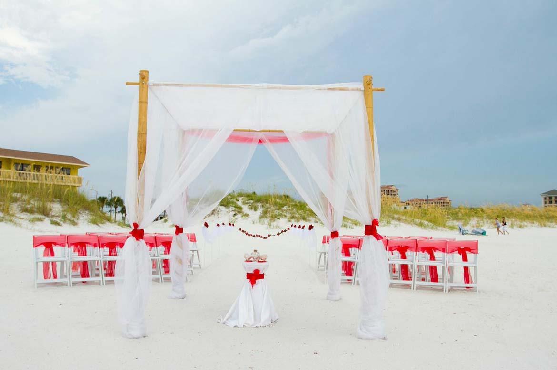 Florida Beach Wedding Arches - Suncoast WeddingsSuncoast Weddings