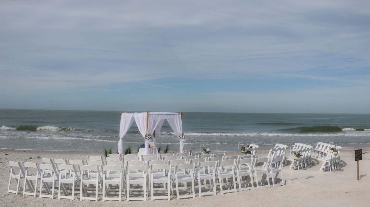 Florida Beach Wedding Chairs White Folding 6 50 Each Plus Tax