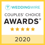 Suncoast Weddings WeddingWire award
