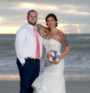 Florida beach weddings on Madeira Beach