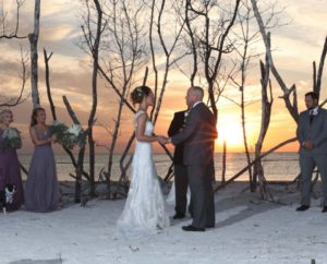 Rustic Florida beach weddings