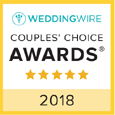 Wedding Wire 2018 award for Suncoast Weddings
