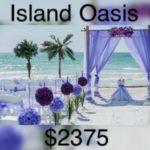 Florida beach weddings island oasis wedding package
