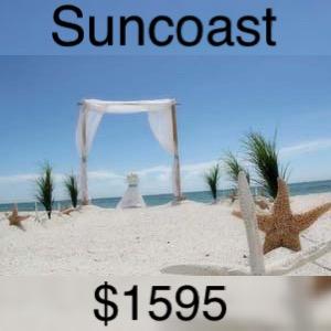 gs suncoast wedding package