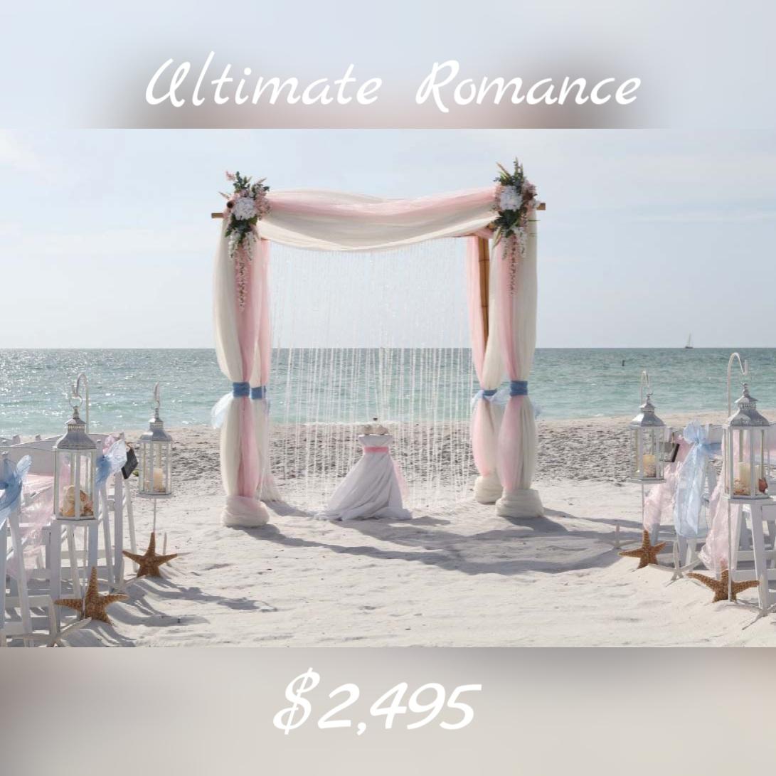Florida Beach Wedding Packages Suncoast Weddings 727 443