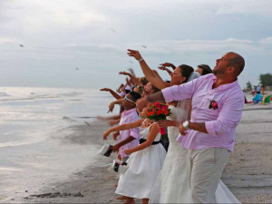 Florida beach weddings, vow renewals, elopements, commitment ceremonies by Suncoast Weddings