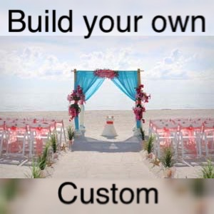 build your own Florida beach wedding