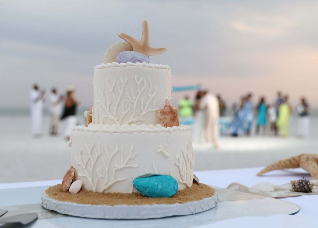 beach wedding receptions