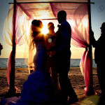 Redington Shores beach wedding