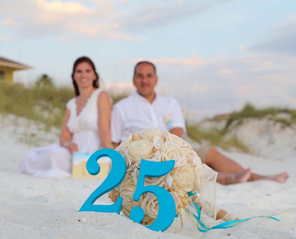 Florida Beach Vow Renewalssuncoast Weddings